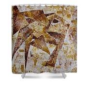 Abstraction 762 - Marucii Shower Curtain