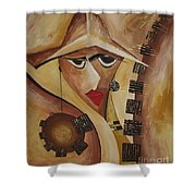 Abstraction 764 - Marucii Shower Curtain