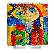 Abstraction 770 - Marucii Shower Curtain