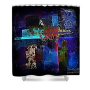 Abstraction 773 - Marucii Shower Curtain