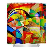 Abstraction 776 - Marucii Shower Curtain