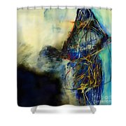 Abstraction 786 - Marucii Shower Curtain