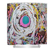 Abstraction #91  Shower Curtain