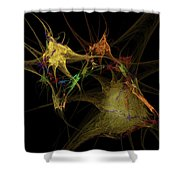 Abstraction... Shower Curtain