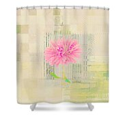 Abstractionnel - 29z21bb Shower Curtain