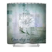 Abstractionnel - 334d1 Shower Curtain
