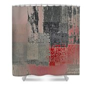 Abstractionnel Shower Curtain