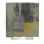 Abstractionnel - Ww59j121129158yll Shower Curtain