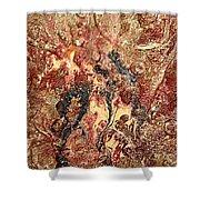 Abstrait 22 Shower Curtain