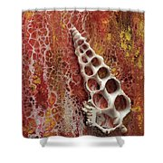 Abstraque Artique Shower Curtain