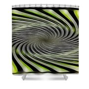 Abstrat  Shower Curtain