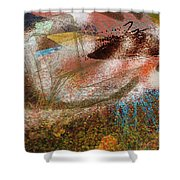 Abstrato 14 Shower Curtain