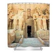 Abu Simbel 2 Shower Curtain