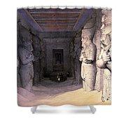 Abu Simbel Temple, 1838 Shower Curtain