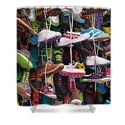 Abundance Of Shoes Shower Curtain
