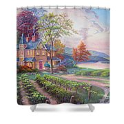 Abundant Harvest Shower Curtain