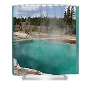 Abyss Pool Shower Curtain