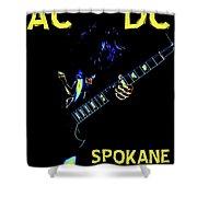 Ac Dc Rocks 2 Shower Curtain