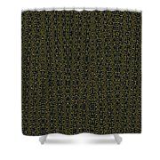 Acacia Fabric Design Shower Curtain
