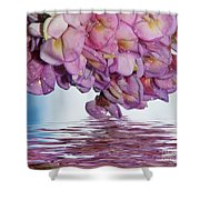 Acacia Flowers Shower Curtain