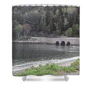 Acadia Bridge Shower Curtain