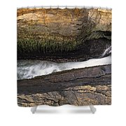 Acadia National Park - Maine Usa Thunder Hole Shower Curtain