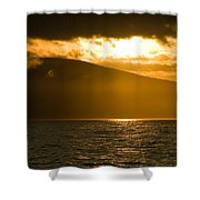 Acadia National Park Sunset Shower Curtain
