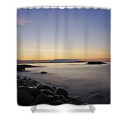 Acadia Sunrise Shower Curtain