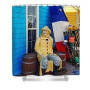 Acadian Fisherman, Prince Edward Island, Canada Shower Curtain