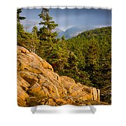 Acadian Mountains Shower Curtain