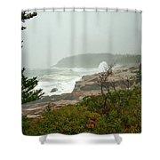 Acadian Storm Shower Curtain