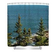 Acadia's Atlantic Shower Curtain