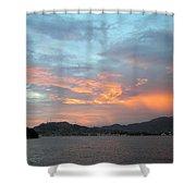 Acapulco01 Shower Curtain