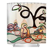 Acceptance Of The Day Shower Curtain