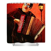 Accordeon Shower Curtain