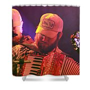 Accordion Player Shower Curtain