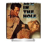 Ace In The Hole Film Noir Shower Curtain