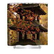 Acer Pagoda Shower Curtain