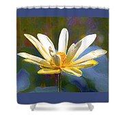Achievement Of Enlightenment The Golden Lotus Shower Curtain