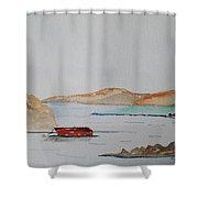 Achill II Shower Curtain