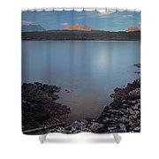Achnahaird Bay And Assynt Mountains Shower Curtain