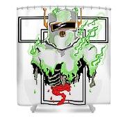 Acid Burn Shower Curtain