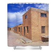 Acoma Pueblo In New Mexico Shower Curtain