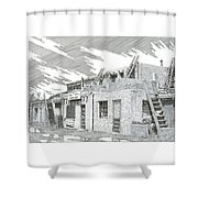 Acoma Sky City Shower Curtain