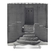 Acoma Steps Shower Curtain