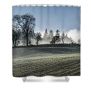 Acomb Misty Day Shower Curtain