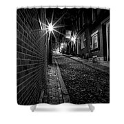 Acorn Street  Shower Curtain