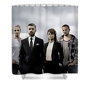 Acquitted Shower Curtain