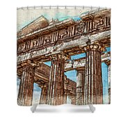 Acropolis I Shower Curtain
