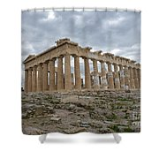 Acropolis Of Athens, Greece Shower Curtain